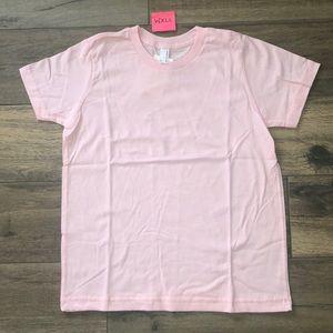 American Apparel Pink Short Sleeve Top